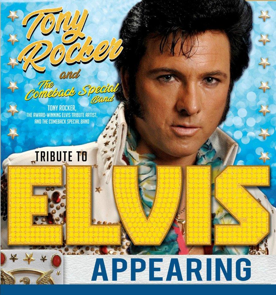 Elvis Tribute Tony Rocker
